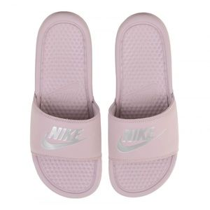 d93f0325d5e113 Nike Shoes - Light Pink Nike Slides   Sandals
